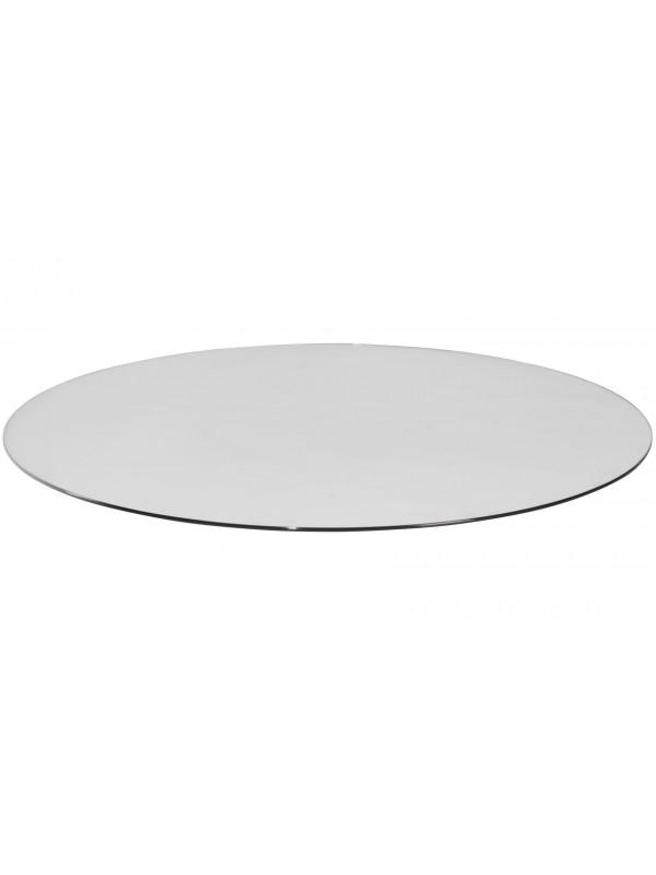 Vloerplaat glas rond 110x110 cm (bxd)