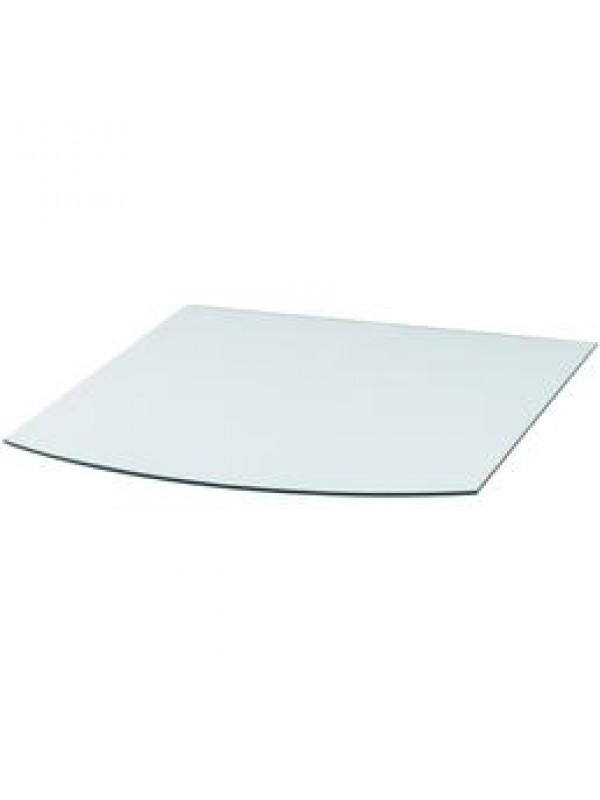 Vloerplaat glas flauwrond 100x100 cm (bxd)
